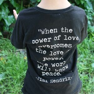 Other - Jimi Hendrix Quote T-shirt